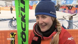 JO 2018 - ski cross: Fanny Smith revient avec le Bronze [RTS]