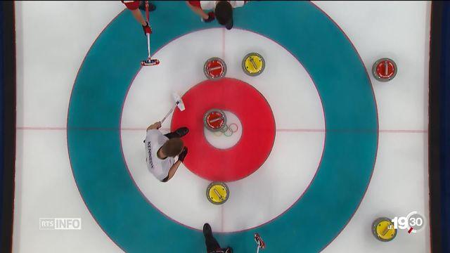JO 2018 - curling: le CC Genève remporte le Bronze face au Canada [RTS]