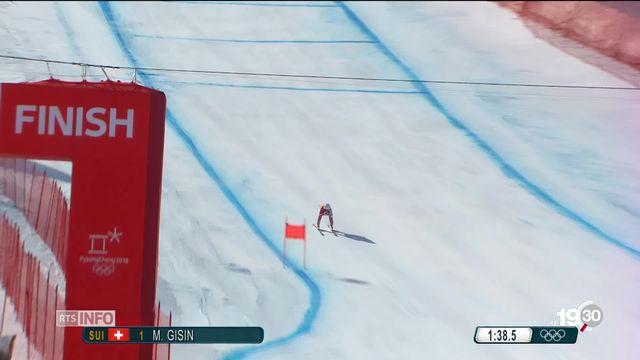 JO PyeongChang: Michelle Gisin est championne de combiné [RTS]