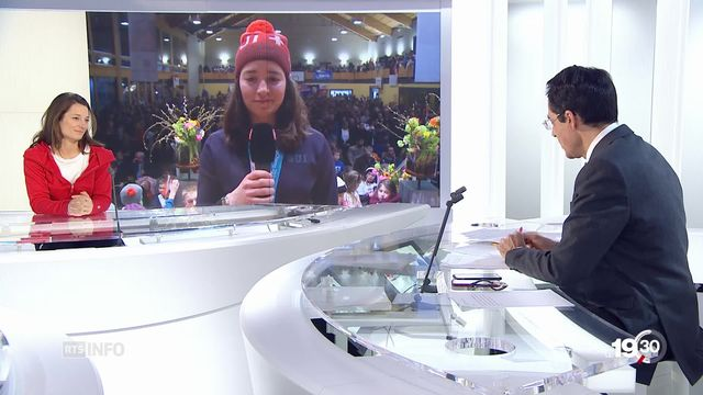 JO PyeongChang: entretien avec Sarah Hoefflin et Mathilde Gremaud [RTS]