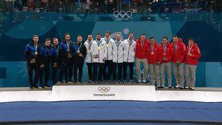 Finale hommes, SWE-USA (7-10): le podium [RTS]