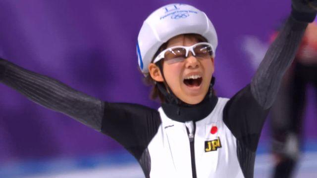 Mass start dames, finale: Nana Takgi (JPN) championne olympique [RTS]