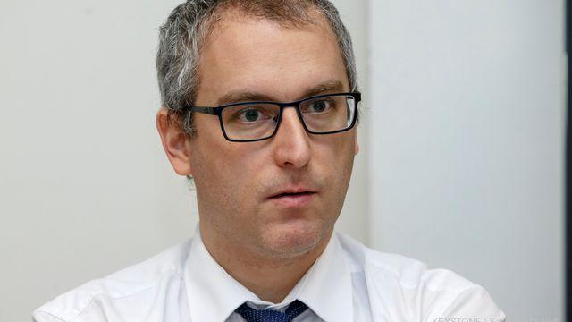 Christian Dandrès, député socialiste. [Salvatore Di Nolfi - Keystone]