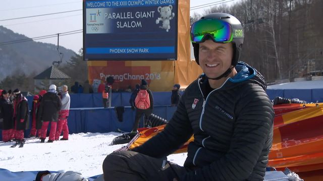 JO - Snowboard: portrait de Nevin Galmarini, médaillé d'or [RTS]