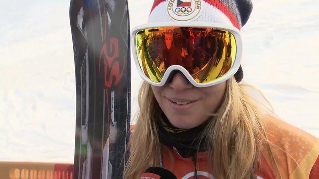 JO: Ester Ledecka remporte deux médaille d'or dans deux sports différents [RTS]