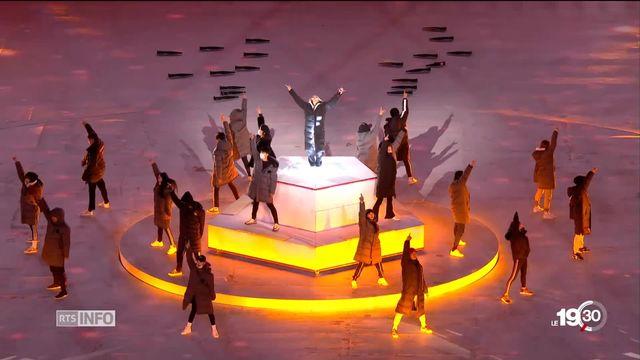 Jeux Olympiques: la cérémonie de clôture a nécessité des mois de préparation [RTS]