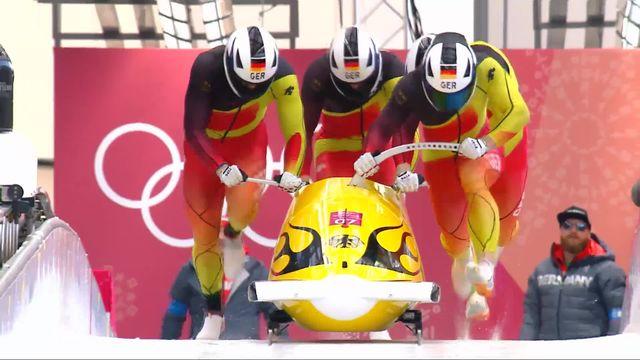 Bob à 4, , 4e manche: Friedrich (GER) remporte l'or olympique [RTS]
