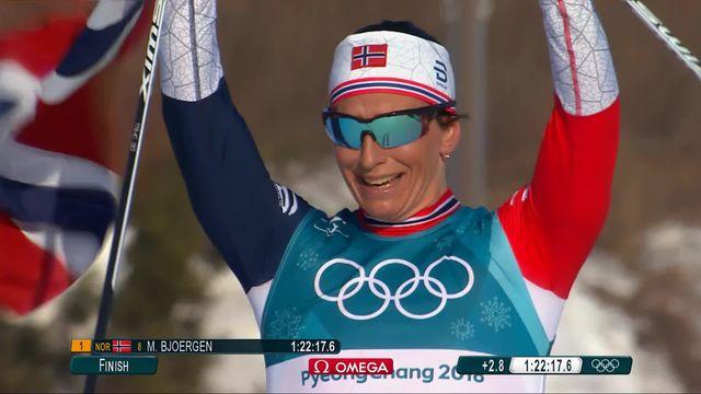 30km dames, victoire de la favorite Marit Bjoergen (NOR) [RTS]
