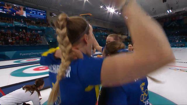 Finale dames, SUE-KOR 8-3: Les Suédoises s'imposent et empochent le titre olympique [RTS]