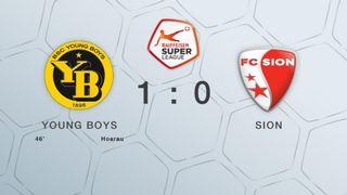 23e journée, Young Boys -Sion 1-0: le résumé du match [RTS]