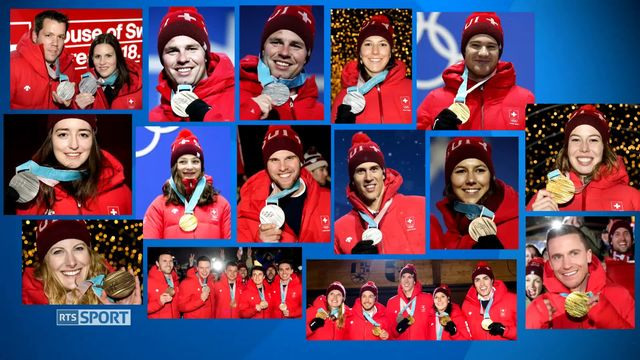 Bilan des Jeux: la Suisse repart avec 15 médailles [RTS]