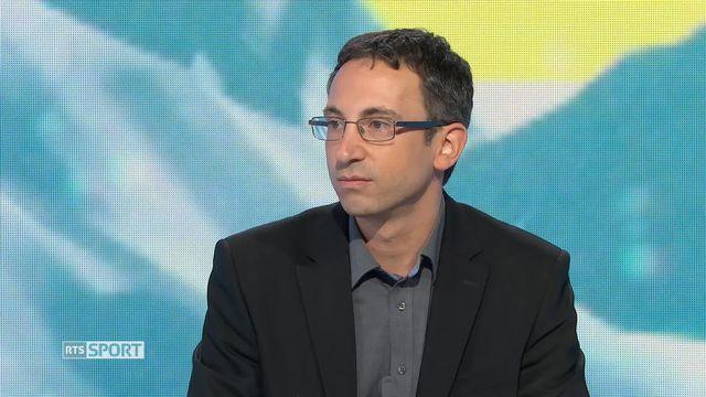 Sion 2026: entretien avec Frédéric Favre, vice-président de la candidature [RTS]