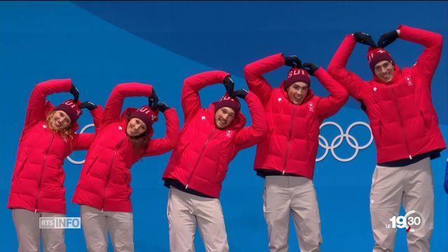 Jeux olympiques: la Suisse repart avec 15 médailles [RTS]