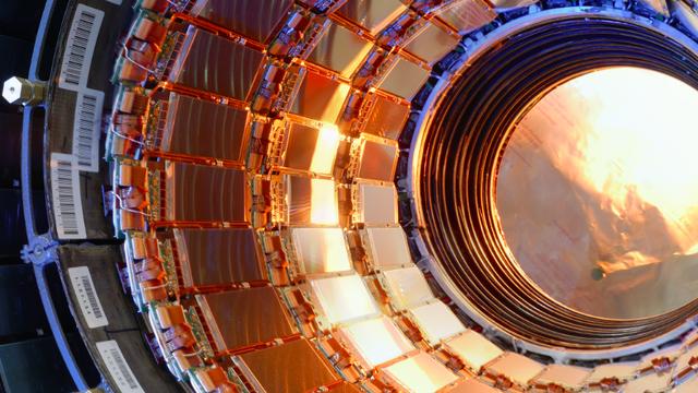 Le dossier sur le CERN de RTS Découverte. [©CERN]