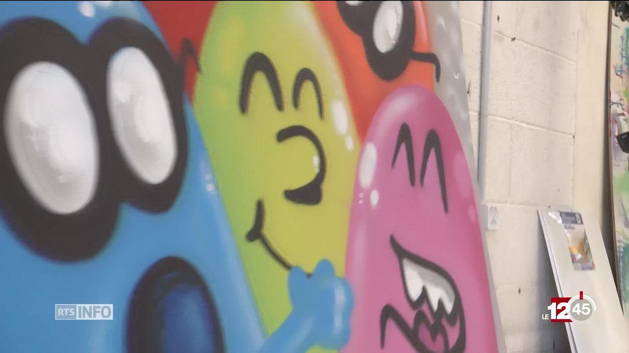 VS: une académie d'arts urbains a ouvert ses portes [RTS]