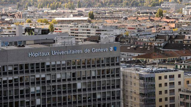 Un bâtiment des Hôpitaux universitaires de Genève (image prétexte). [Martial Trezzini - Keystone]