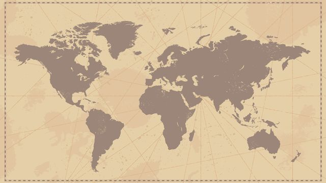 Carte du monde [© rtguest - Fotolia]