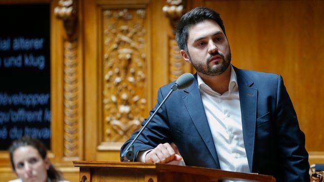Le conseiller national Cédric Wermuth (PS-AG). [Peter Klaunzer - keystone]