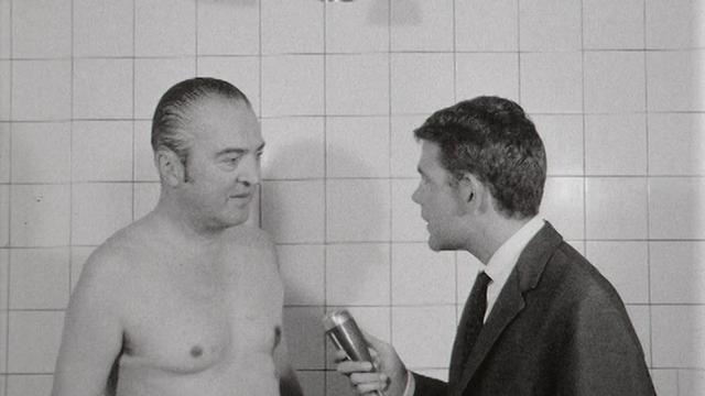 Le sauna en 1966. [RTS]