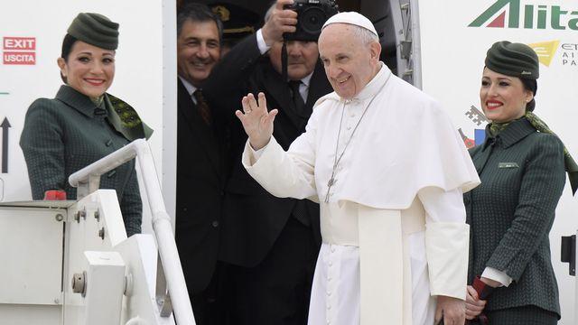 Le pape François est attendu à Genève le 21 juin. [Tiziana Fabi - AFP]