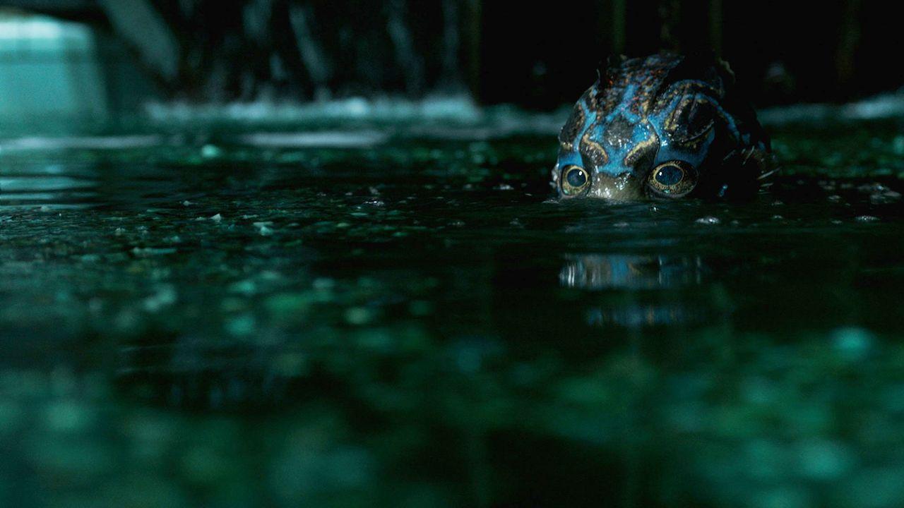 """Scène du film """"La forme de l'eau"""" de Guillermo del Toro. [Bull Productions / DDY / Fox Sea / Collection Christophel - AFP]"""