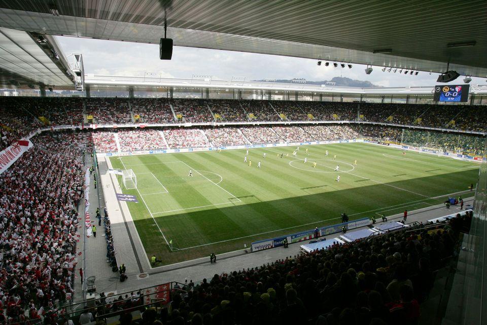 Le Stade de Suisse va à nouveau accueillir la finale de la Coupe de Suisse. [Urs Bucher - Keystone]