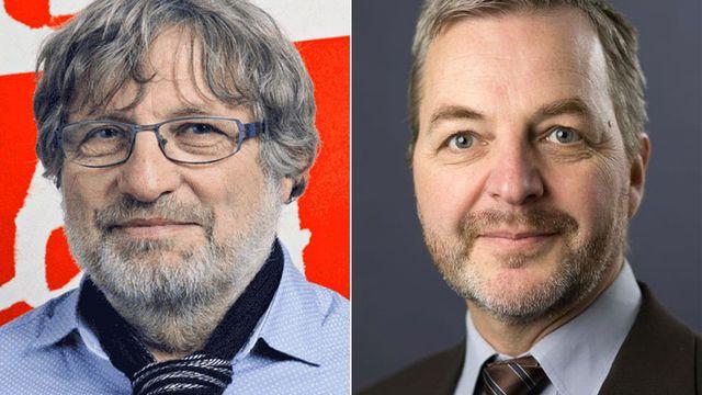 Bernard Borel et Olivier Marmy. [Ensemble à Gauche/SSO]