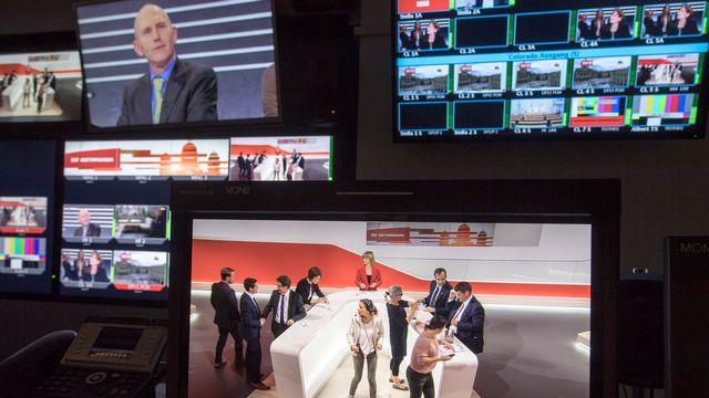 L'audiovisuel public passera par de nécessaires réformes. [Lukas Lehmann - Keystone]