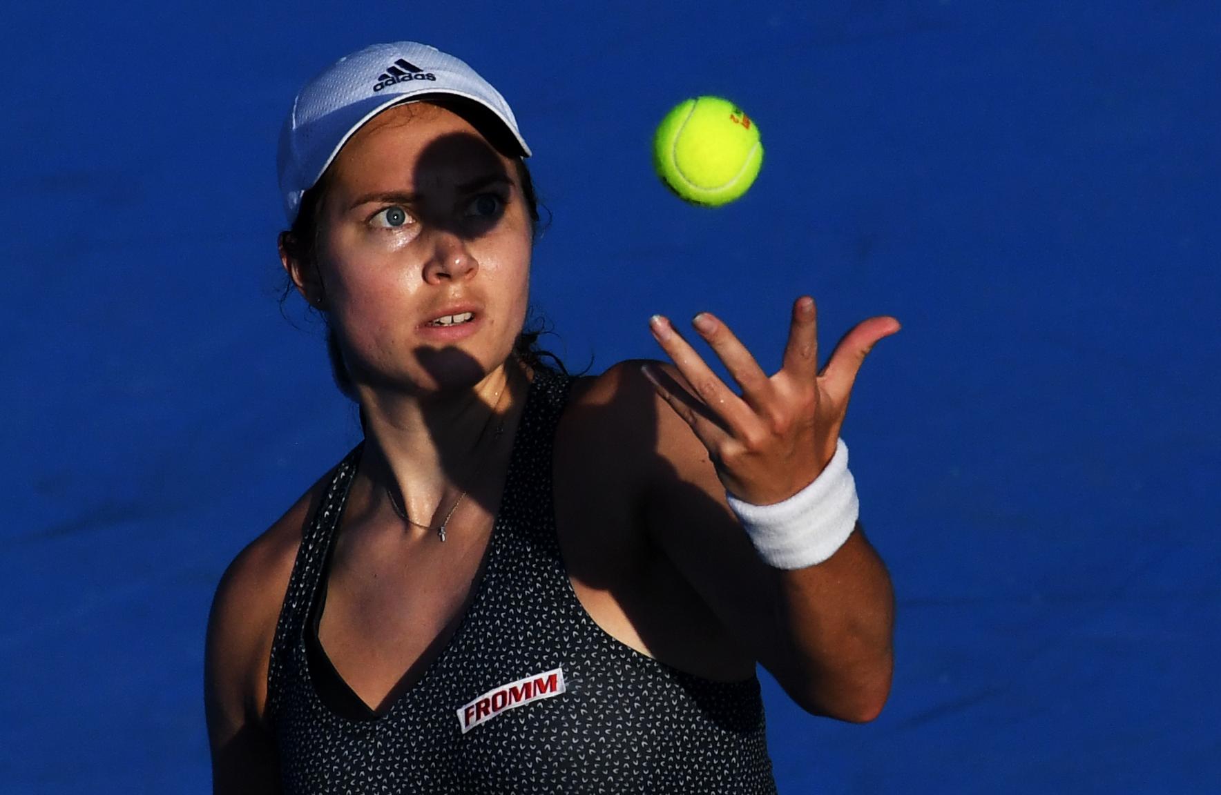 Stefanie Voegele rejoint Tsurenko en finale