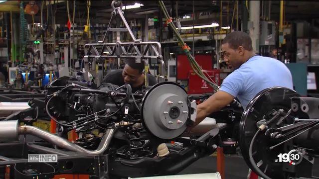 Donald Trump parle d'introduire des taxes à l'importation d'acier et d'aluminium [RTS]