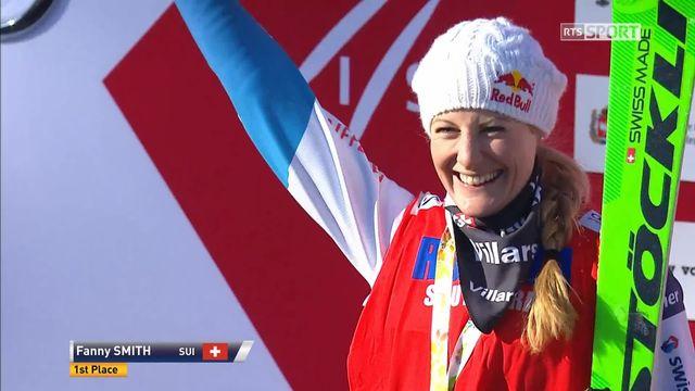 Sunny Valley (RUS), ski cross: Fanny Smith et Jonas Lenherr sur la première marche du podium [RTS]