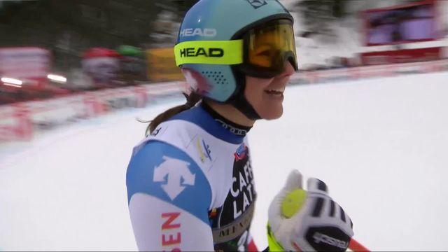 Crans-Montana (SUI), Super-G dames: Wendy Holdener (SUI) décroche la 3e place! [RTS]