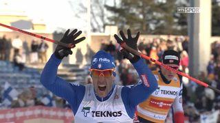 Lahti (FIN), sprint messieurs: Pellegrino (ITA) s.impose devant Retivykh (RUS) et Klaebo (NOR) [RTS]