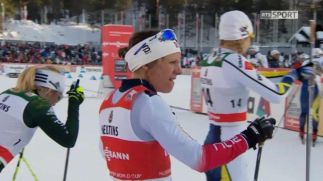 Lahti (FIN), sprint dames: victoire de Falla (NOR) devant les Suédoises Nilsson et Falk [RTS]
