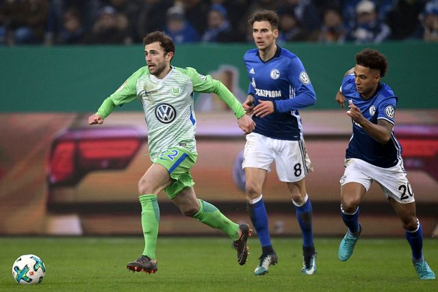 Admir Mehmedi sous les couleurs de Wolfsburg, le 7 février 2018. [Uwe Speck - Freshfocus]