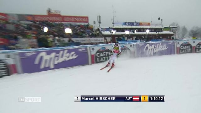 Ski alpin: Marcel Hirscher une nouvelle fois intouchable en Géant [RTS]