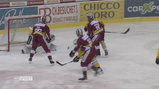 Hockey- LNA (49e j.): Genève défait par Berne (2-3) mais qualifié [RTS]