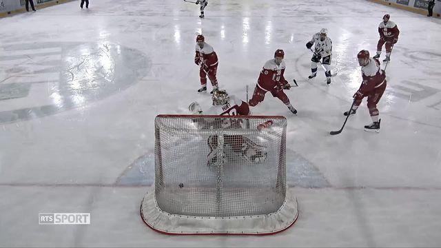 Hockey- LNA (49e j.): Lausanne bat sans souci Fribourg (4-1) [RTS]
