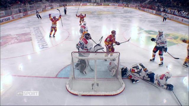 Hockey- LNA (49e j.): Bienne convaincant contre Zurich (4-1) [RTS]
