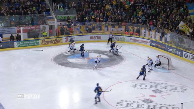 Hockey- LNA (49e j.): Davos bat Lugano (tb 4-3) [RTS]