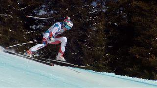 Crans-Montana (SUI), combiné alpin dames, 1re manche: Michelle Gisin (SUI) [RTS]