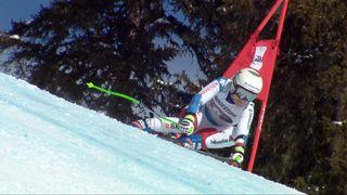 Crans-Montana (SUI), combiné alpin dames, 1re manche: Priska Nufer (SUI) [RTS]