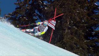 Crans-Montana (SUI), combiné alpin dames, 1re manche: Rahel Kopp (SUI) [RTS]