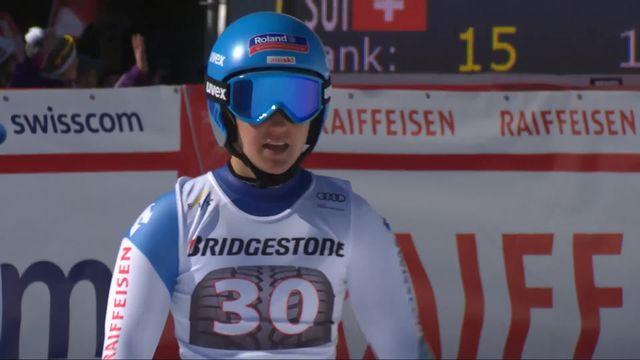 Crans-Montana (SUI), combiné alpin dames, 1re manche: Joana Haehlen (SUI) [RTS]