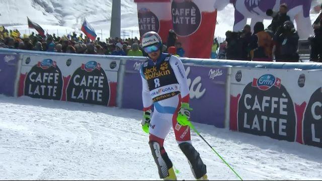 Kranjska Gora (SLO), slalom hommes, 2e manche: Luca Aerni (SUI) [RTS]