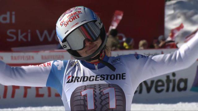 Crans-Montana (SUI), combiné alpin dames, 2e manche: Denise Feierabend (SUI) [RTS]