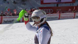 Crans-Montana (SUI), combiné alpin dames, 2e manche: Priska Nufer (SUI) [RTS]