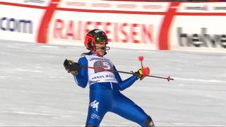 Crans-Montana (SUI), combiné alpin dames, 2e manche: Federica Brignone (ITA) remporte le combiné alpin ! [RTS]