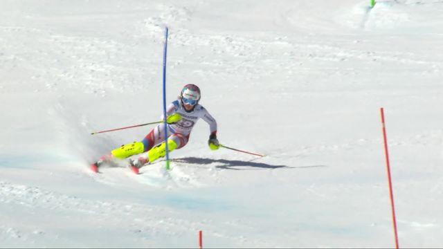 Crans-Montana (SUI), combiné alpin dames, 2e manche: Rahel Kopp (SUI) [RTS]