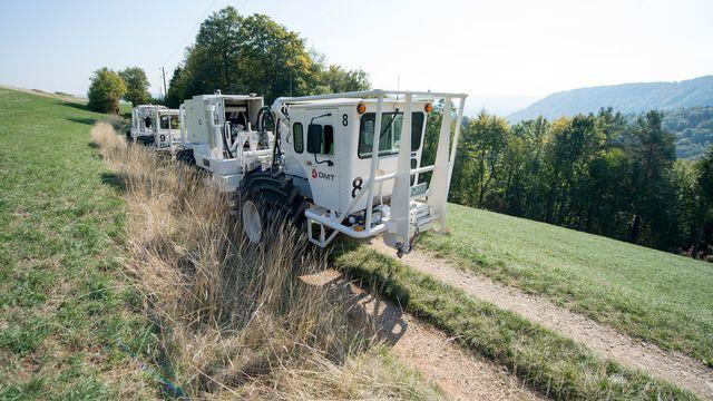 La Nagra est chargée de trouver des solutions de stockage des déchets nucléaires en Suisse. [Urs Flueeler - KEYSTONE]